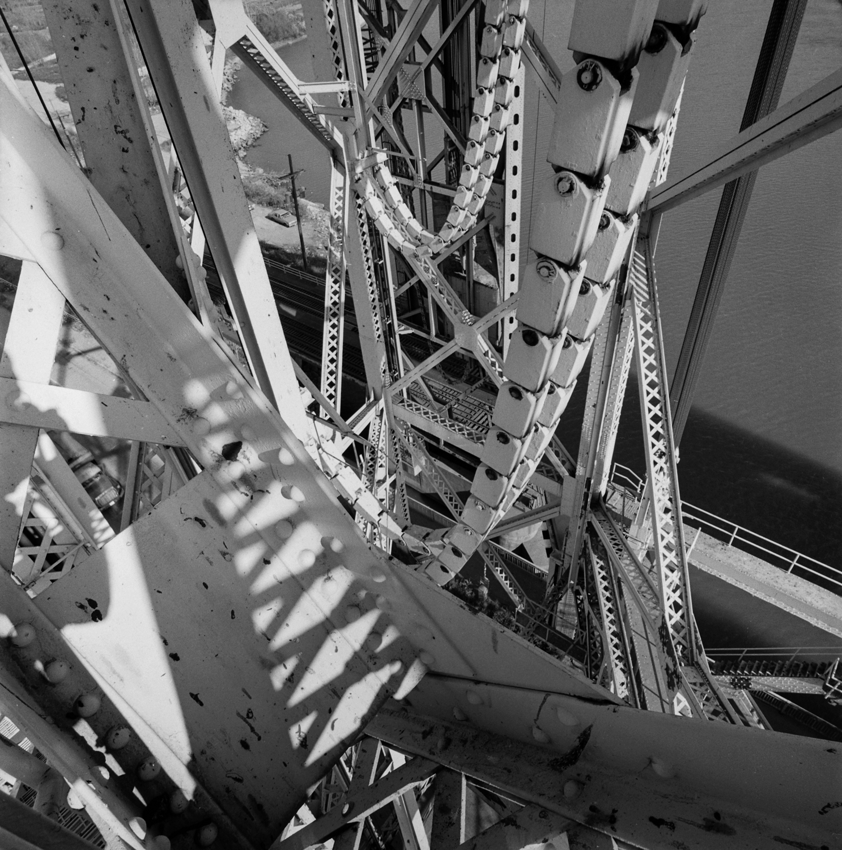 Torrence Avenue Bridge with Shadow  1987