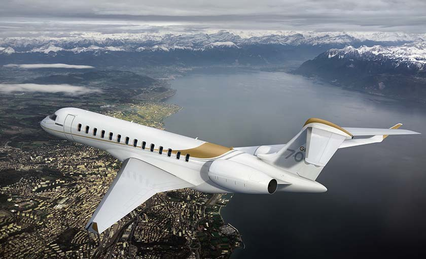 2nd Quarter Global 7000 Delivery Position For Sale Exterior 5