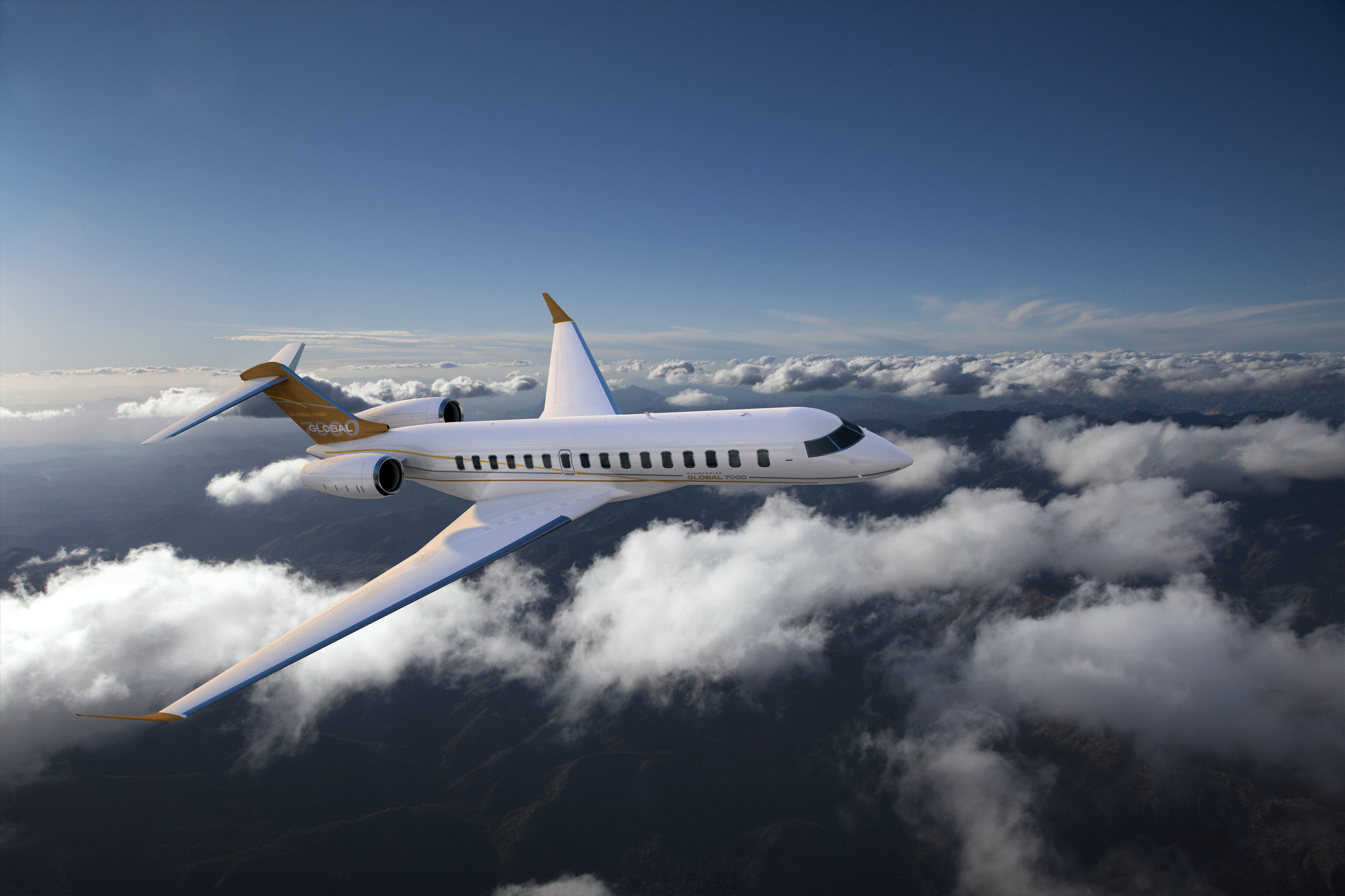 2nd Quarter Global 7000 Delivery Position For Sale Exterior 1
