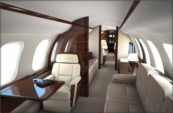 2nd Quarter 2019 Global 7000 For Sale Interior 1