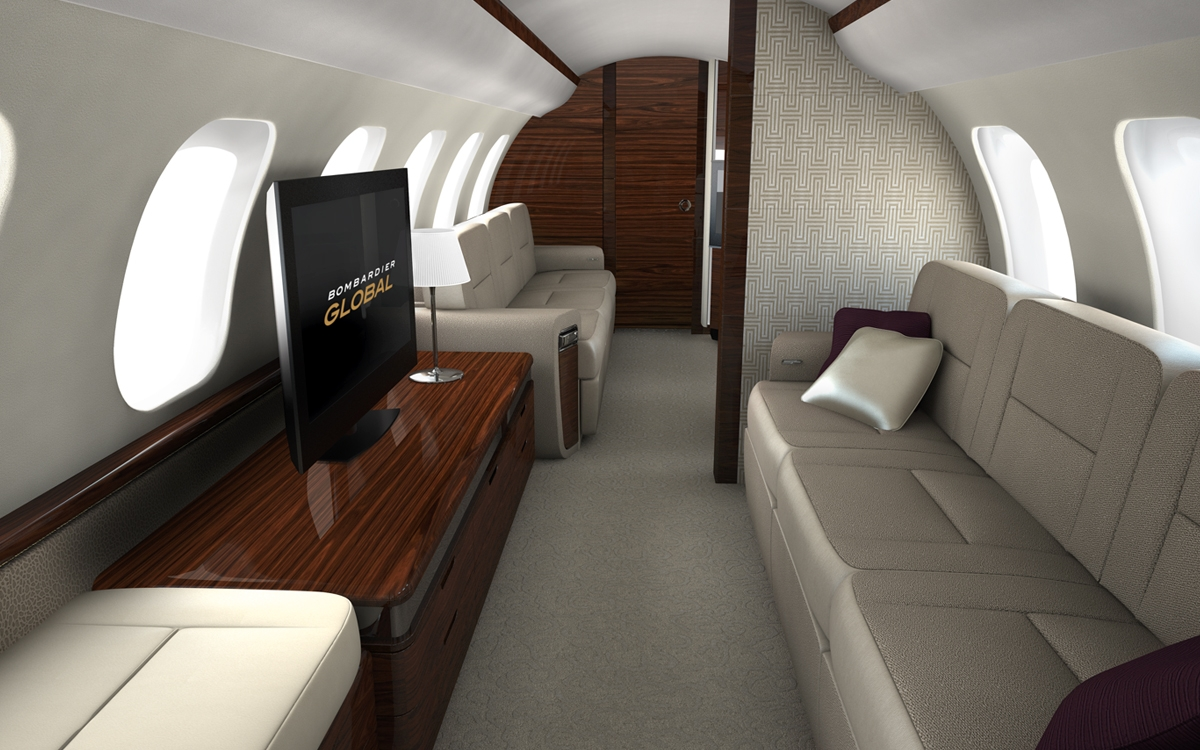 2nd Quarter 2019 Global 7000 For Sale Interior 2