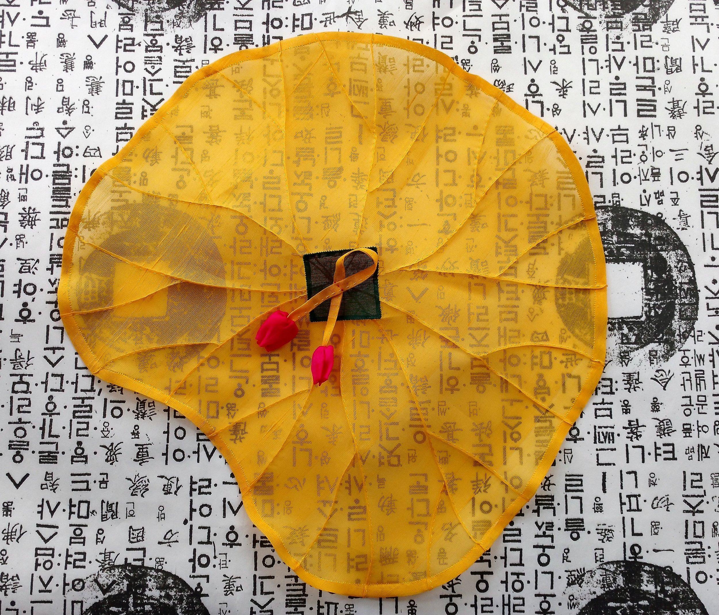 Lotus leaf covering cloth  2017
