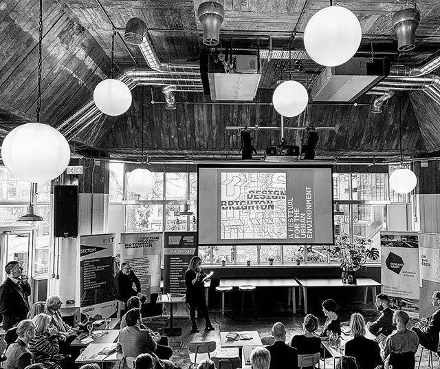 At the Design Brighton talk. Taking responsibility for the future developments in Brighton and Hove.  #futuredevelopment #brightonarchitecture #platf9rm #hovetownhall #hovestation #brightonarchitecture #brightonarchitect #hovearchitect #brutalistarchitecture #brightonregeneration