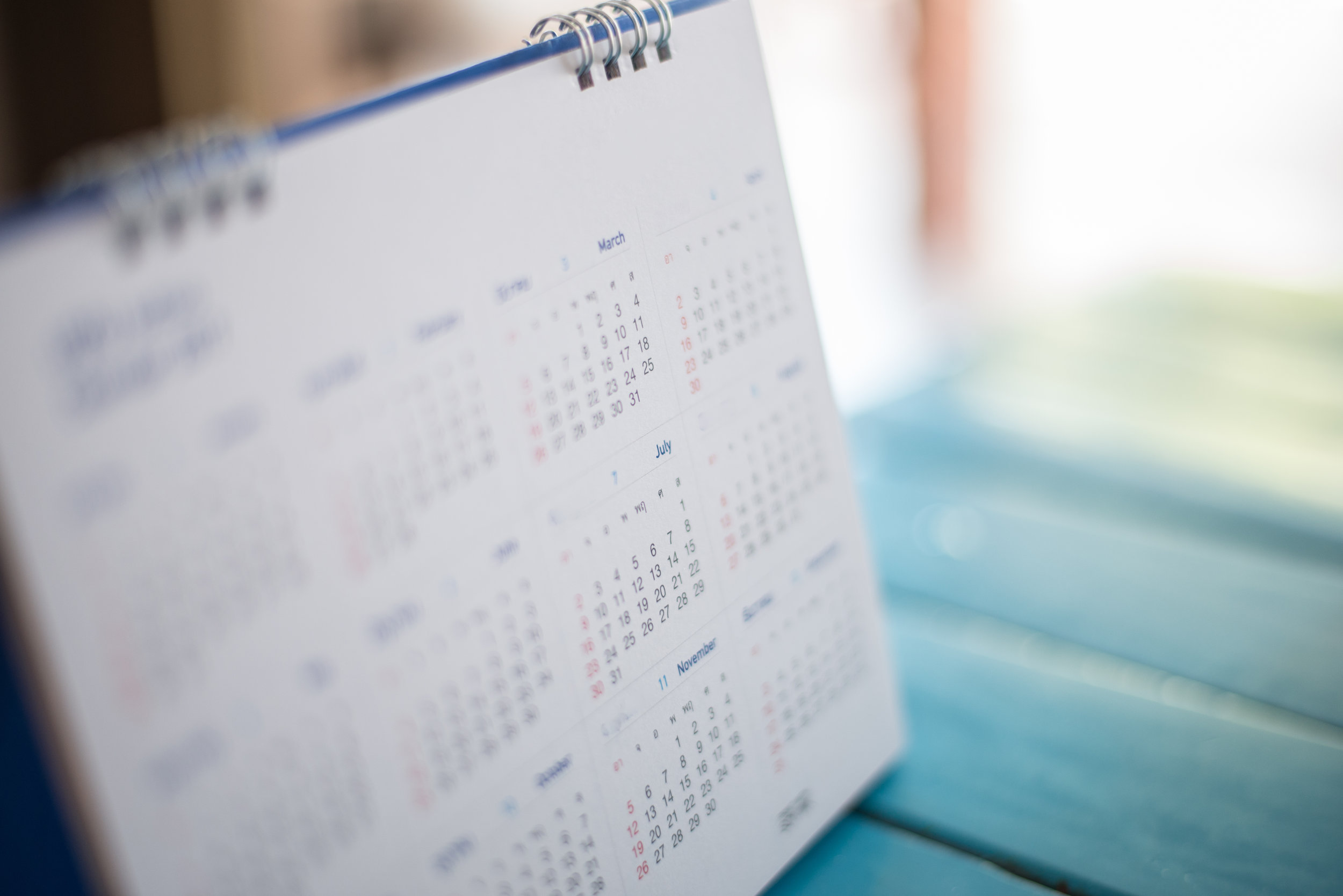 Diary - Trampoline Term Dates & Events