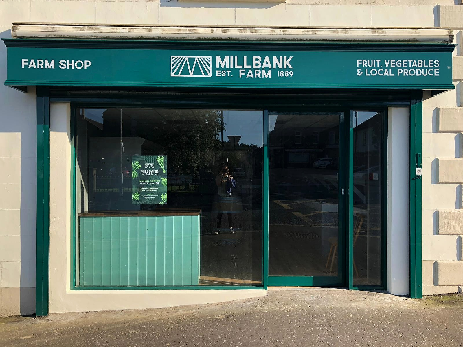 Fresh food from the heart of Saintfield. - Millbank Farm shop offers quality local fruit and vegetables, as well as a the first 'No Waste Station' in Northern Ireland – allowing customers to buy loose whole foods and reduce their packaging use.