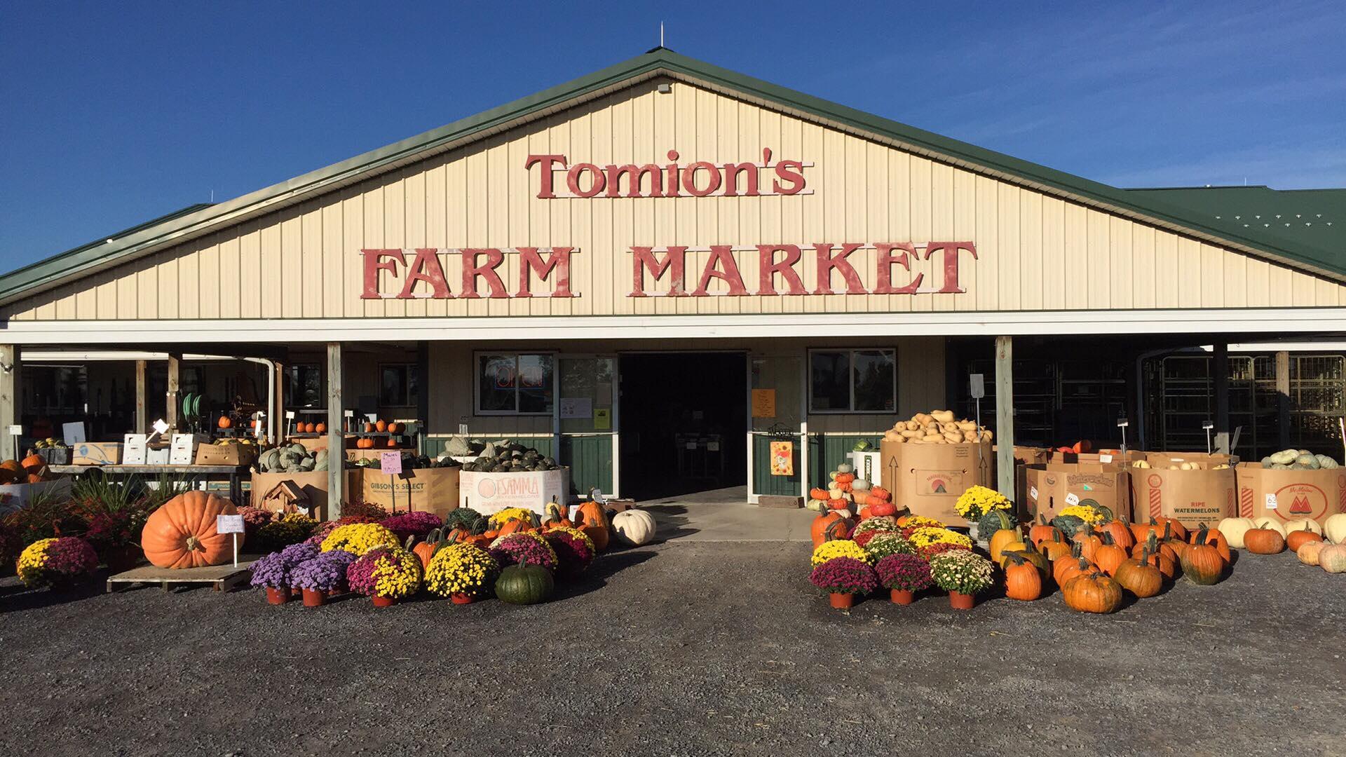 Member Spotlight: - Tomion's Farm market