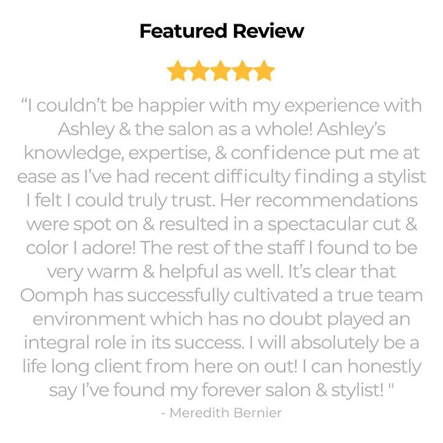 💁🏼♀️FIVE STAR MONDAY...as always, thank you so much for taking the time to show us some love. You help us succeed every day. ❤️ #loveourclients