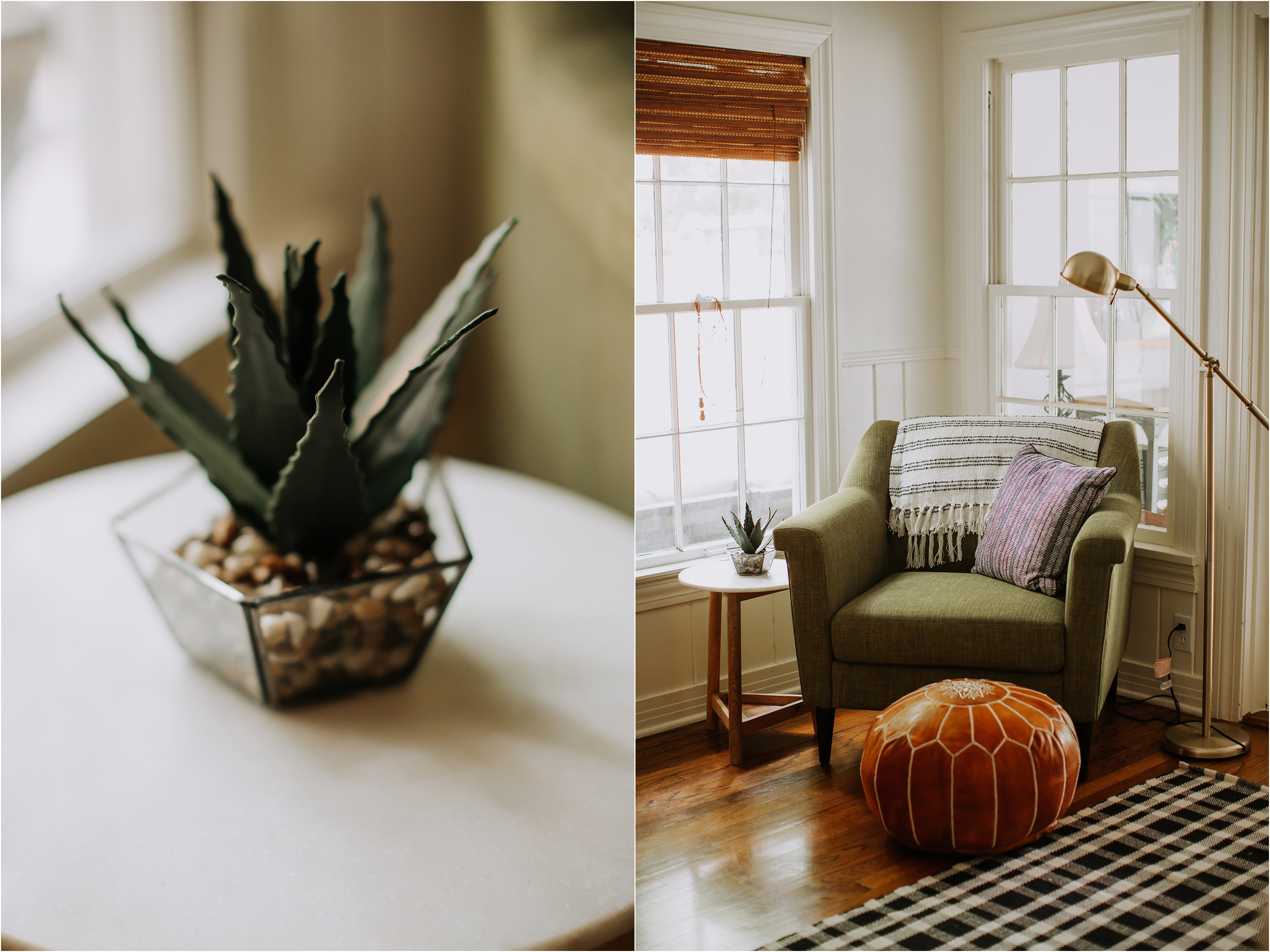 We found this chair on Wayfair and I absolutely love it! Its very comfy and it's a great size.