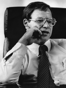 David H. Martin, shown here in 1983, served as director of the Offfice of Government Ethics during the Reagan years. (James K.W. Atherton/The Washington Post)