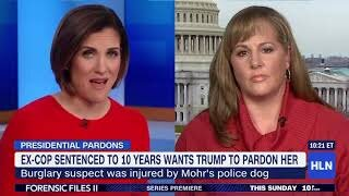 Ex-Cop Sentenced to 10 years wants Trump to pardon her   Lynn Smith  |  HLNTV  |  Thursay, February 20, 2020