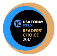 - We are thrilled to announce we have been selected in the Top 10 of the USA Today 10BEST Readers' Choice 2017 award contest. Thank you to everyone who supported and voted for Shira Forge. We greatly appreciate it and look forward to creating for you in the future!
