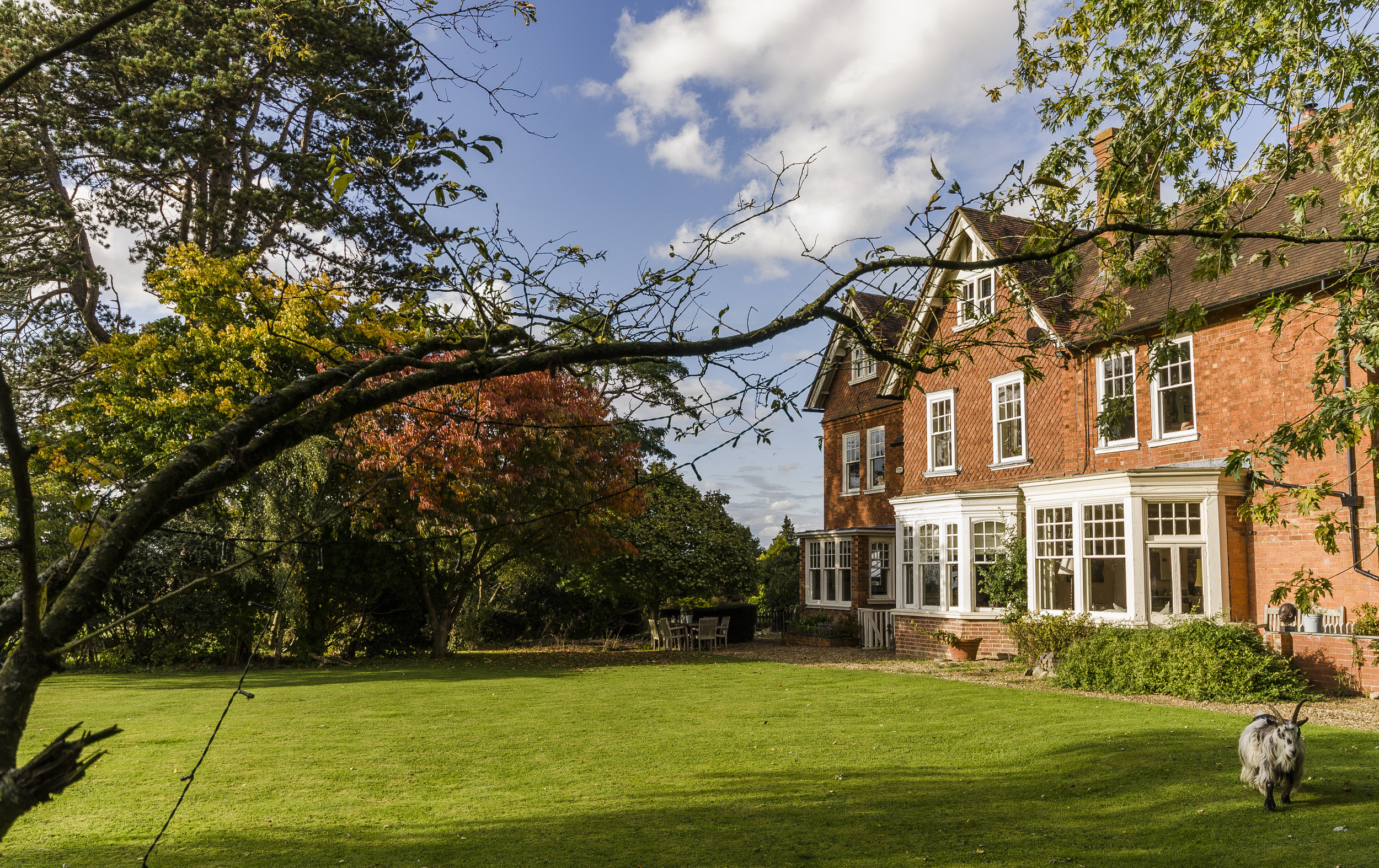 A beautiful Victorian     country house -