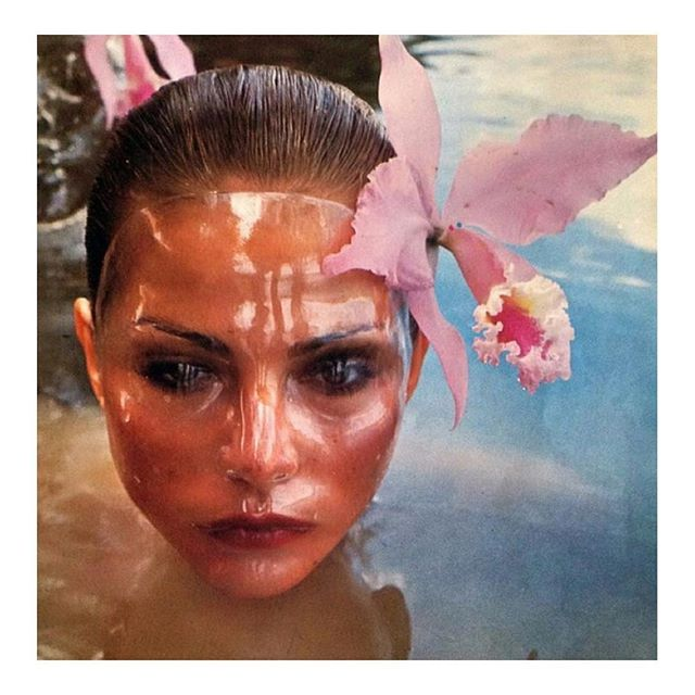 #WomenCrushWednesday 🌊👀💕 Laura Alvarez for Vogue Italia in Venezuela, 1976