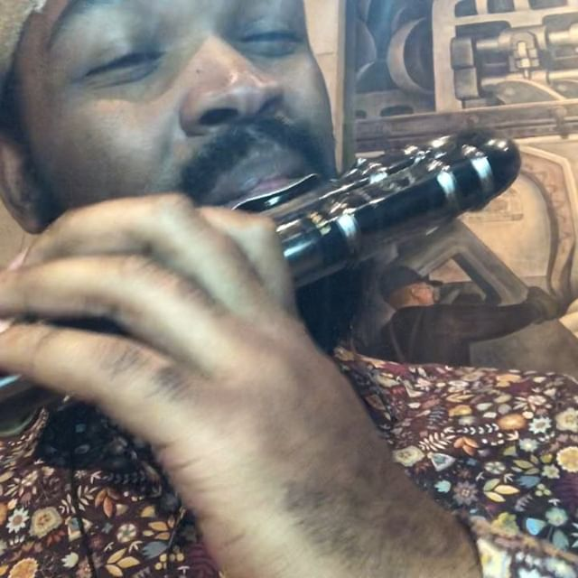Had a blast playing with #jdillaorchestra this past friday.  Here are some clips of me struggling with the #altoflute (just found out my lips are allergic to nickel metal 🤦🏾‍♂️) bottom lip was swelling and irritated! 🙏🏽@fluteworldco for letting rent this flute for show!