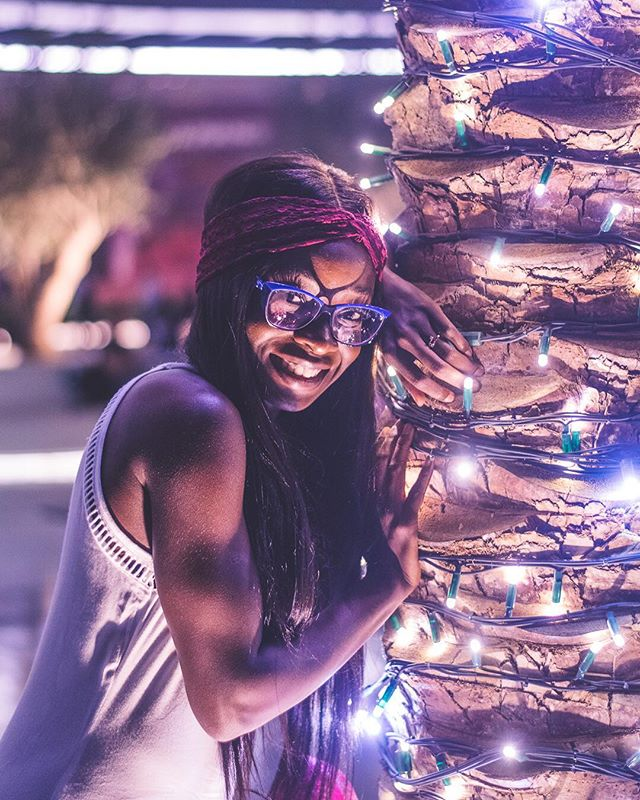 I like when you smile but I love when I'm the reason. . . Learnt of @branwolfel shortly after taking this shot! Guy's a beast! This was my attempt at following in good footprints. #brandonwoelfel #photooftheday #fiance #lightson @brandonwoelfel #lightsource #palmtrees #smileforme #smile #nightphotography #itslit #travel #stylishtraveltings #sharethelove