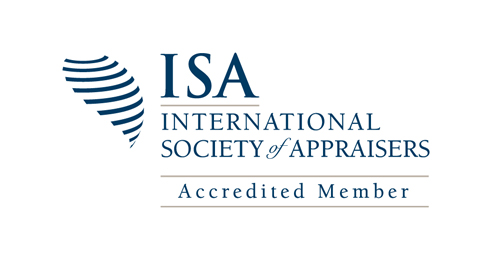 International Society of Appraisers Accredited Member Logo