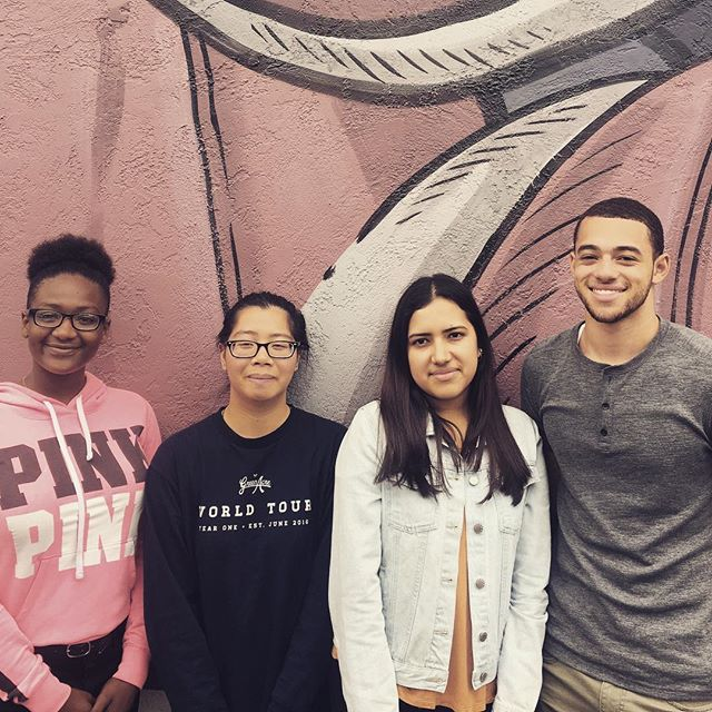 Shout out to these 4 wonderful humans who graced us with their presence in our office this summer as our interns! - - - Left to right: Imani Butler, 3rd yr CS major at Tuskegee University • Angela Ma, 1st year student at Laney College • Karen Aguilar Suarez, 3rd yr Business Management major at UCSC • Cameron Schmidt, 4th yr Psychology major with a minor in education at UCLA)
