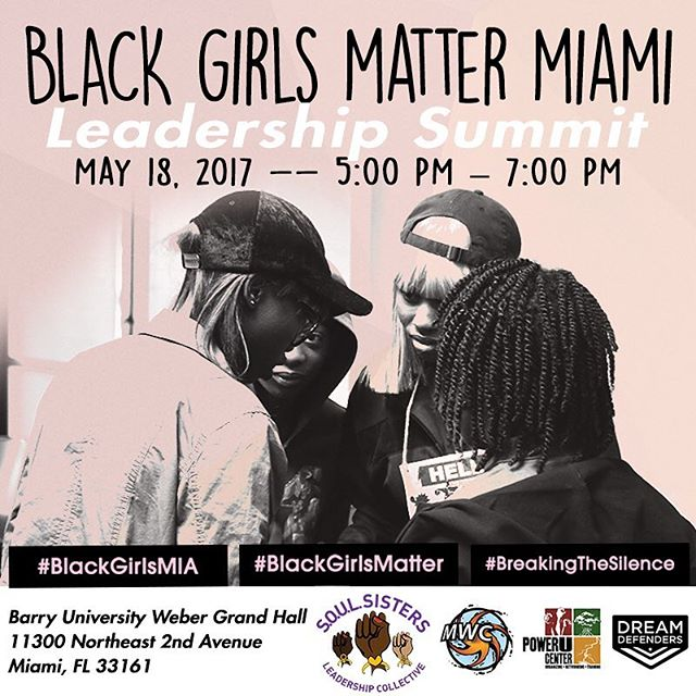 We've added an additional 50 tickets to registration. If you haven't already registered, do it TODAY! Seating is limited and you must be registered to attend!  #BlackGirlsMia #BlackGirlsMatter #BreakingTheSilence
