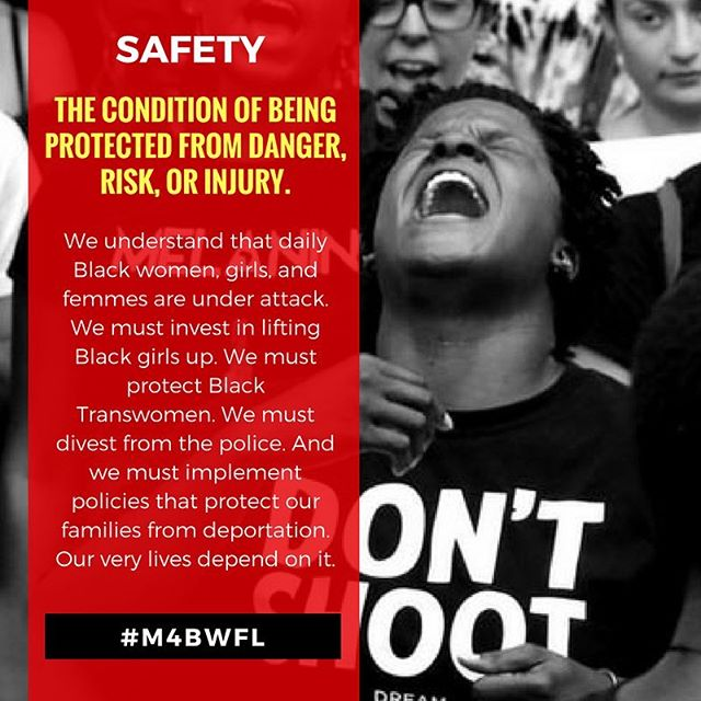 March For Black Women! September 30, 2017 • 3pm http://bit.ly/FLM4BW  #M4BWFL #SupportBlackWomen #WhyIMarch