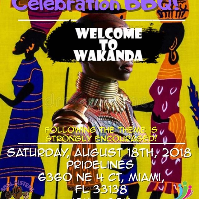 Wakanda Edition!!! Come out and join @leadsoulsisters as they celebrate achievement! When women support each other WE ALL WIN! #blackgirlsmattermia