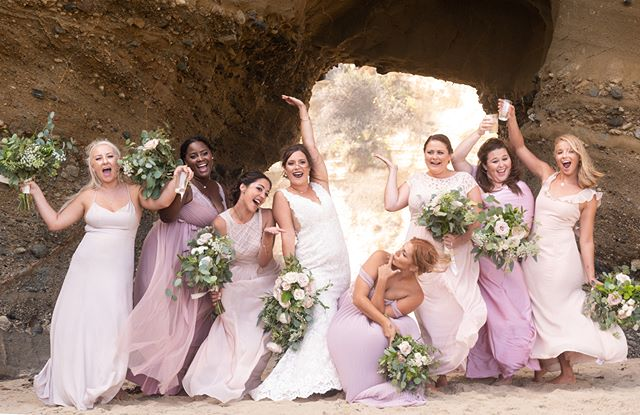 Another photo from our recent Laguna Beach wedding. Love the energy from the ladies!! - - - - #weddingphotography #weddingphotographer #weddinginspiration #weddingphoto #weddingseason #californiaweddingphotography #ocwedding #ocweddingphotographer #beachwedding #instawedding #bridesmaids #bridesmaid #bridestory #bridesmaiddress #bridesmaiddresses #theknot #huffpostido