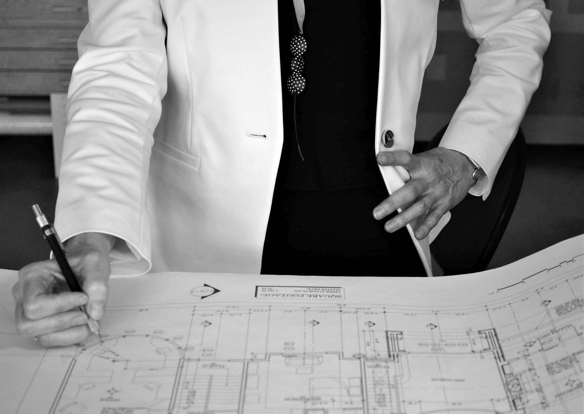 CONSTRUCTION DOCUMENTATION (Define) - The construction documentation phase entails the working drawings, details and written specifications necessary for your architecture and construction team to estimate costs and build your project. The drawings and specifications are delivered to you and your team to ensure a cohesive and coordinated design. Your project package becomes your manual and record of the project.