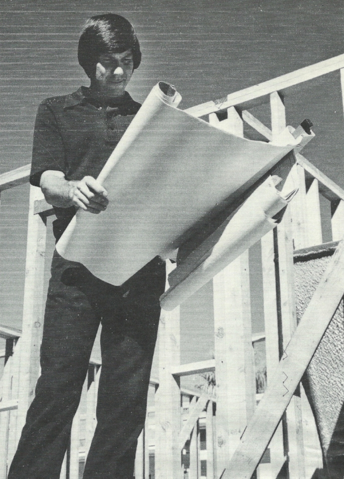 Foster's Father at construction site