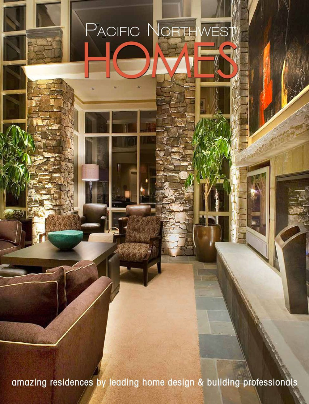 Pacific Northwest Homes - The publication features luxury homes designed and built by the region's leading architects, custom builders and interior designers in the Pacific Northwest.View DTF Design Feature in Pacific Northwest Homes.Publication: Panache PartnersYear: 2017