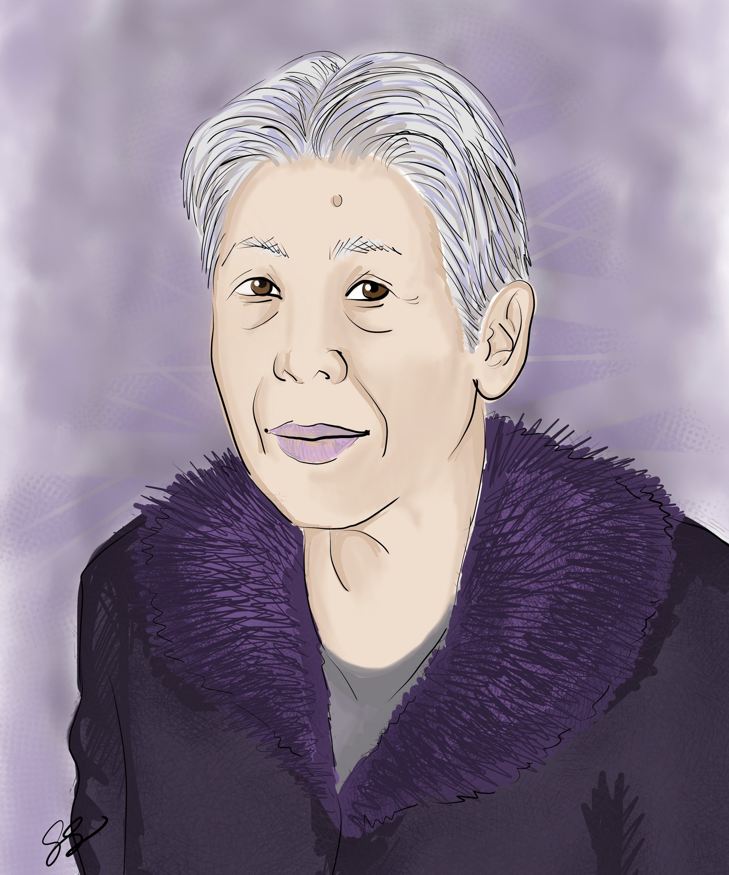 Susanna ChauHong Kong, China - The picture is perfect! You capture her expressions very well. This is the last tribute we can have for her to say thank you for everything she has done for us.On a commemorative portrait of her mother-in-law for a family funeral