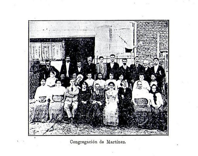 Primera foto Congregación de Martínez