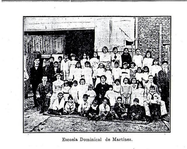 Primera foto Escuela Dominical