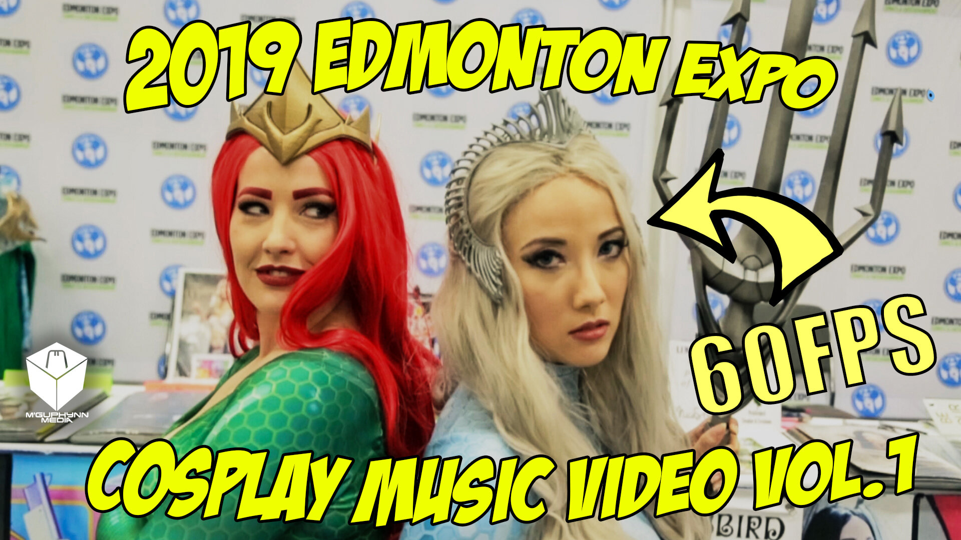 2019 Edmonton Expo Cosplay Music video