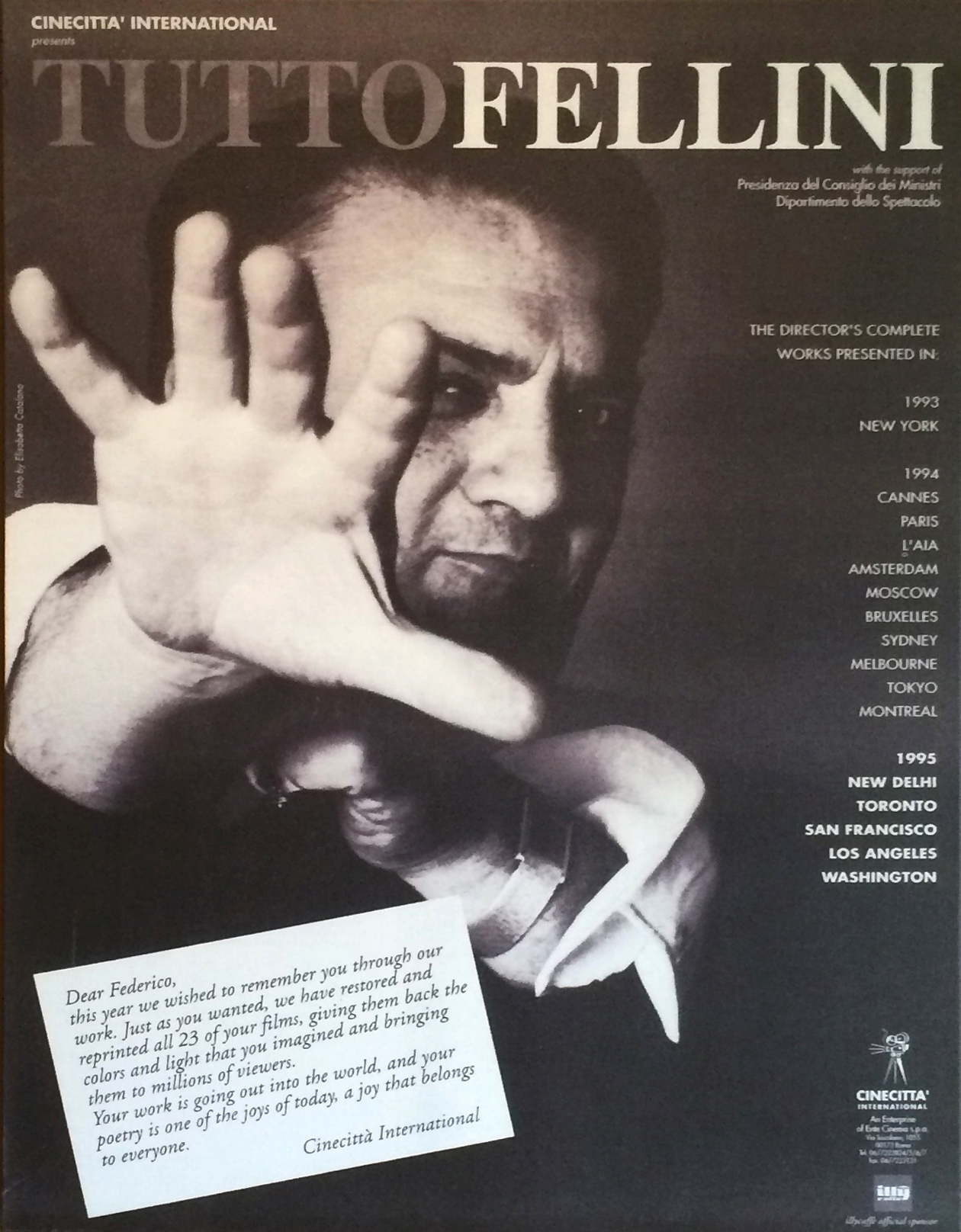 Fellini_Cinecita International_Poster