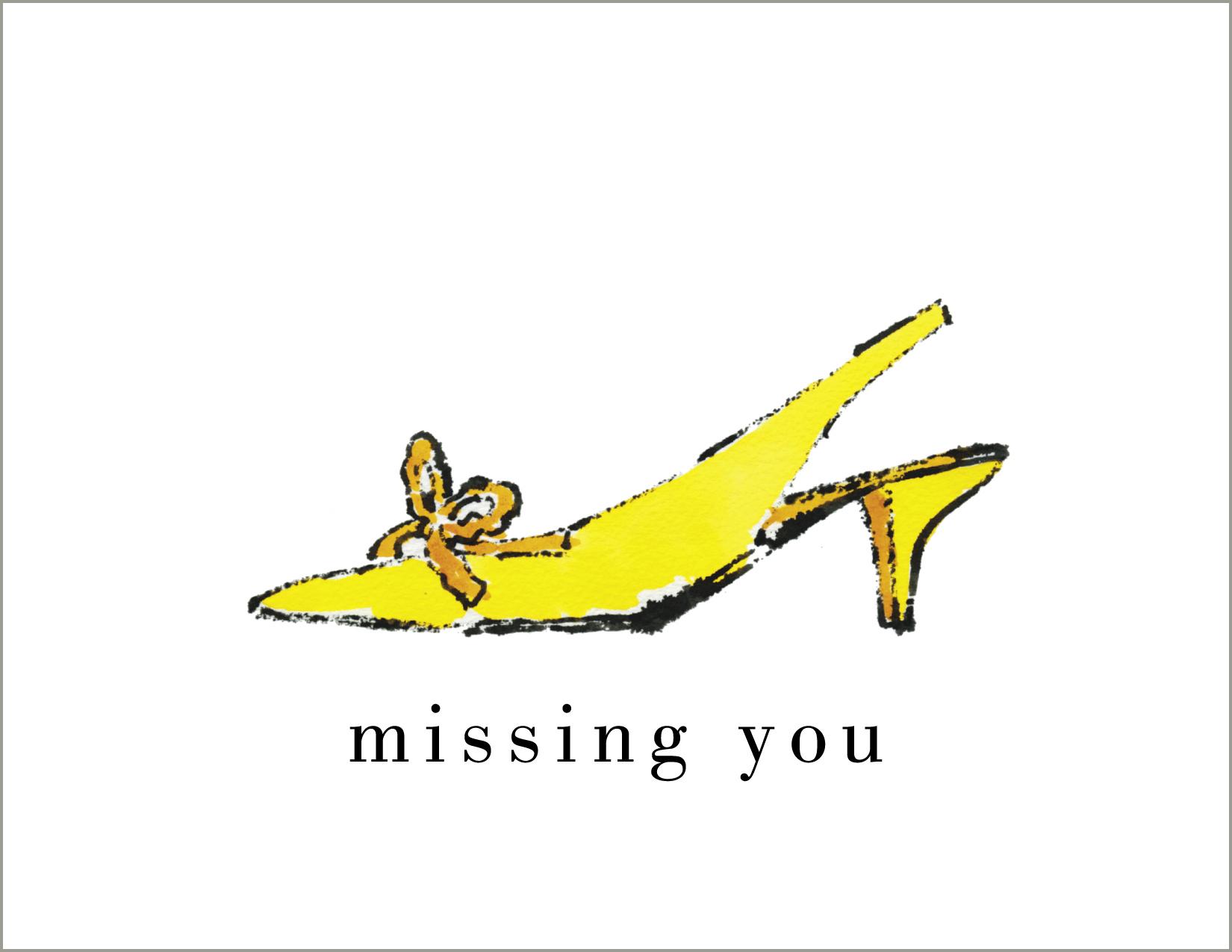 a la audrey, Missing You,  Note Cards