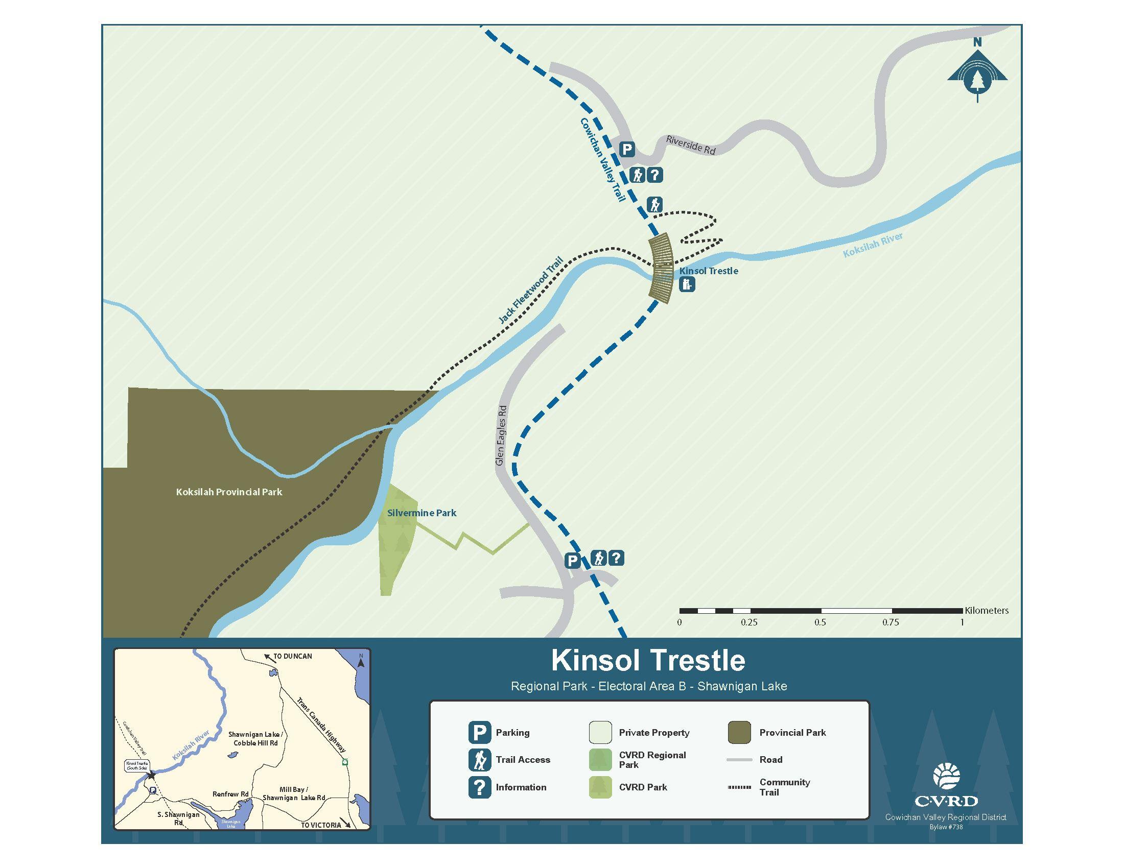 Kinsol Trestle - Cowichan Valley