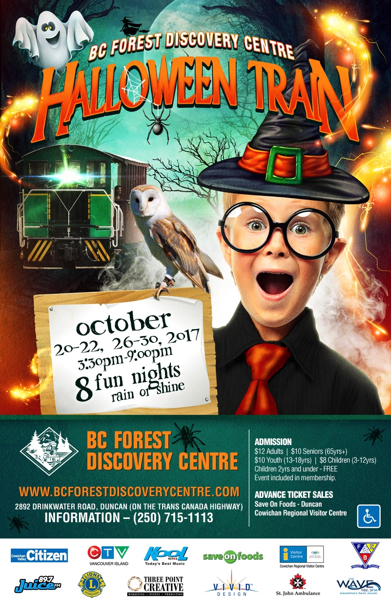 Halloween Train Bc Forrest Discovery Centre