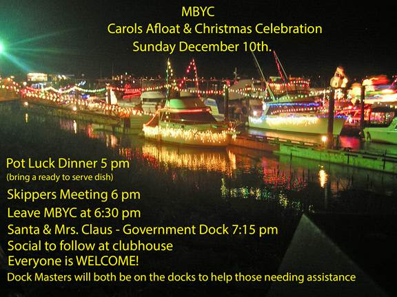 Carols Afloat at Maple Bay