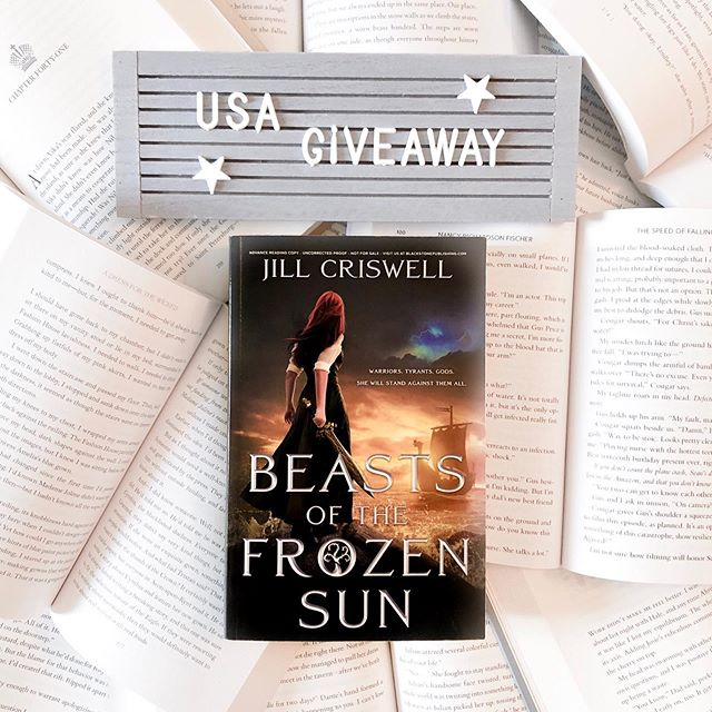 ✨USA GIVEAWAY✨ - Enter to win one of two hardcover copies of #beastsofthefrozensun by @authorjillcriswell  US entries only please! 🇺🇸❤️ - TO ENTER: 1. Follow me @y.a.reads 👯♀️ 2. Like this photo ❤️ 3. Tag two of your bookish friends in the comments 🌟  4. BONUS entry if you share this to your story for 24 hrs and tag me💃🏼 - That's it! Winners will be announced 8/28✨ Must have a valid US address to win 😘 • • • Beasts of the Frozen Sun is a YA fantasy 💫 Lira of clan Stone has the power to read people's souls, to see someone's true essence with only a touch of her hand. When a golden-haired warrior washes up on the shores of her homeland Lira helps the wounded man instead of turning him in. After reading his soul, she realizes Reyker is different than his brethren. He has been cursed with what his people call battle-madness, forced to fight for the warlord known as the Dragon, a powerful tyrant determined to reignite the ancient war of the gods. As Lira and Reyker form a bond forbidden by both their clans, the wrath of the Dragon falls upon them. The battle for Lira's life, for Reyker's soul, and for their peoples' freedom has only just begun. ⚔️☀️🌊 • • • #bookgiveaway #youngadult #yafantasy #bookstagram #bookish bookrecommendations  #youngadultbooks #yabooks #yalit #bookreviews #bookish #booknerd #ireadya #bibliophile #alwaysreading #bookobsessed #bookworm #authorsofinstagram #booklover #bookstagrammer #booksofinstagram #instabook #igreads  #bookaholic #booklove #writersofinstagram #bookgiveaways #readersofig #readingnook #bookishfeed