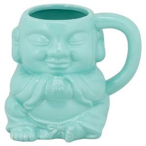 Eventually he strove not for 'Dad of the Year', but on his coffee mug (chai mug?) — 'Buddhahood'.