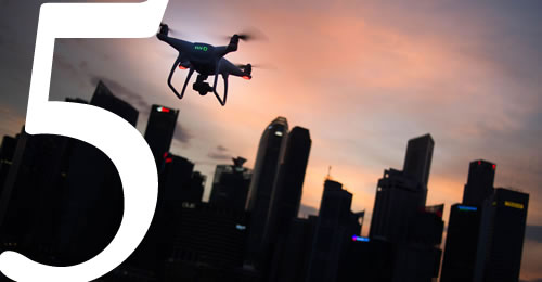 - Think you know about Drones? Currently, the greatest commercial growth use area is in agricultural and structural inspections but how will drones change the face of our cities?