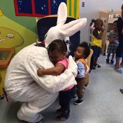 Walgreens hosts an annual Easter Egg Hunt and a Christmas party for Ark's children. Each child gets a photo with the Easter Bunny and Santa Claus. Walgreens has also hosted a health fair, flu shot clinic and donated school supplies and backpacks to children heading to kindergarten.