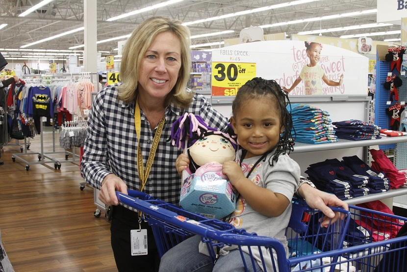 """The Vanderburgh Sheriff's Office takes 20 preschool aged children on a Christmas shopping spree each year for the annual """"Christmas with the Kids"""" program. This special program helps children and their families during the holidays and helps foster great relationships with local law enforcement."""