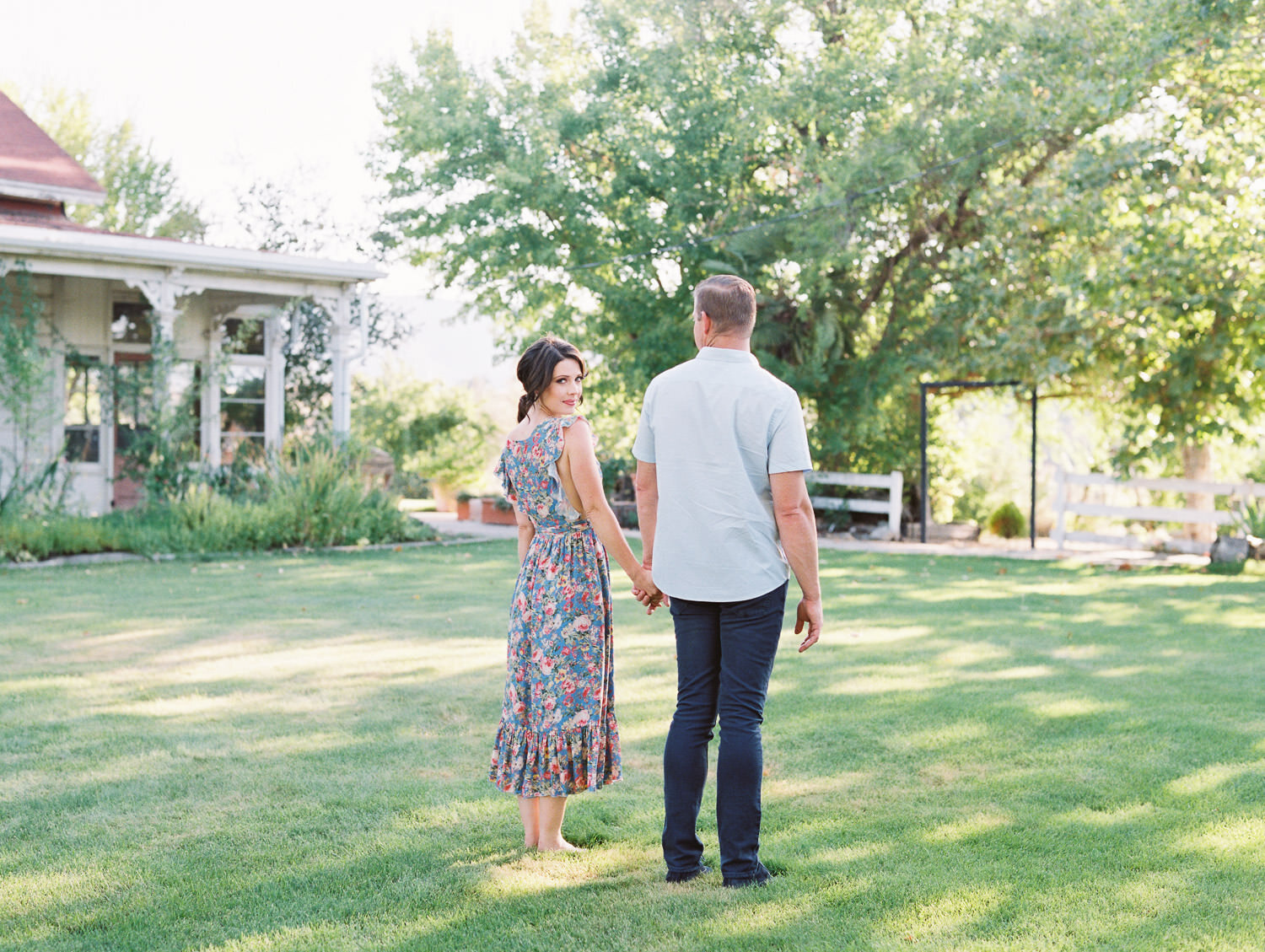 Romantic Picnic Themed Engagement -