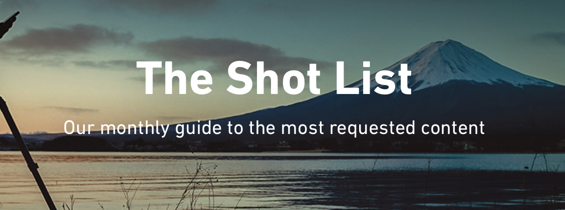 From Shutterstock's monthly newsletter to stock contributors.