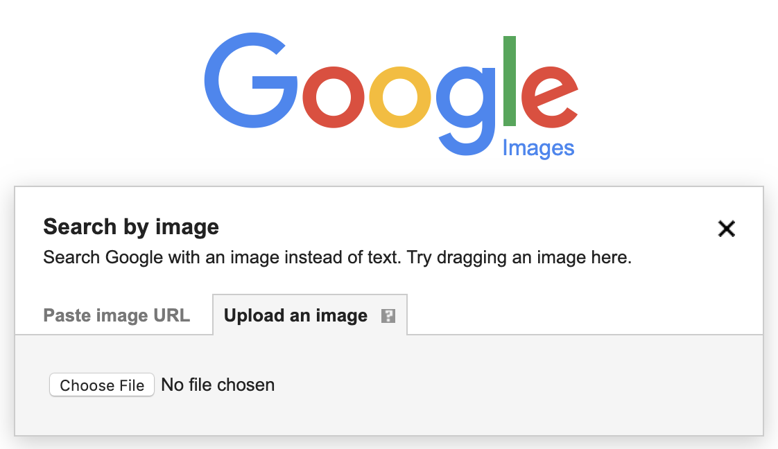 google image search by image upload