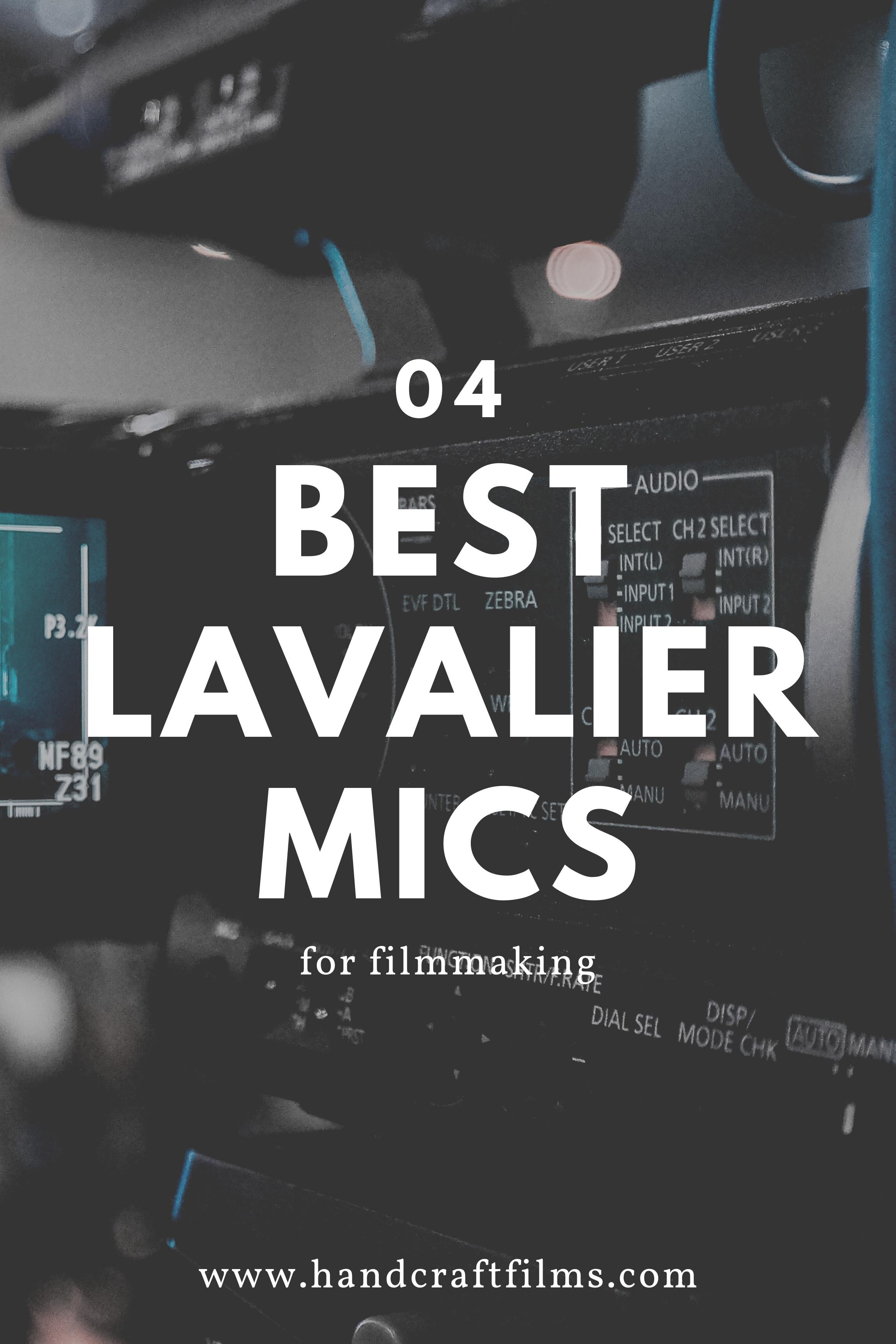 best lav mics filmmaking