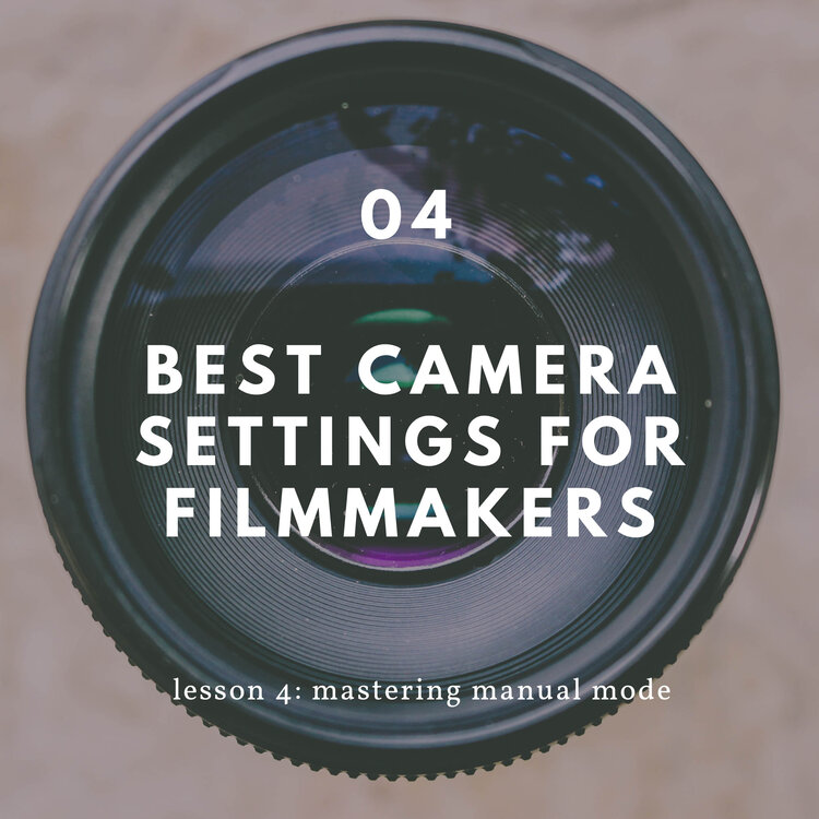 manual mode for filmmakers