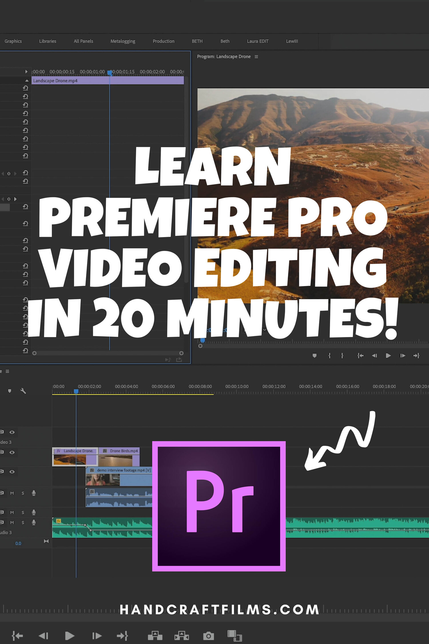 Learn Premiere Pro Video Editing for Beginners