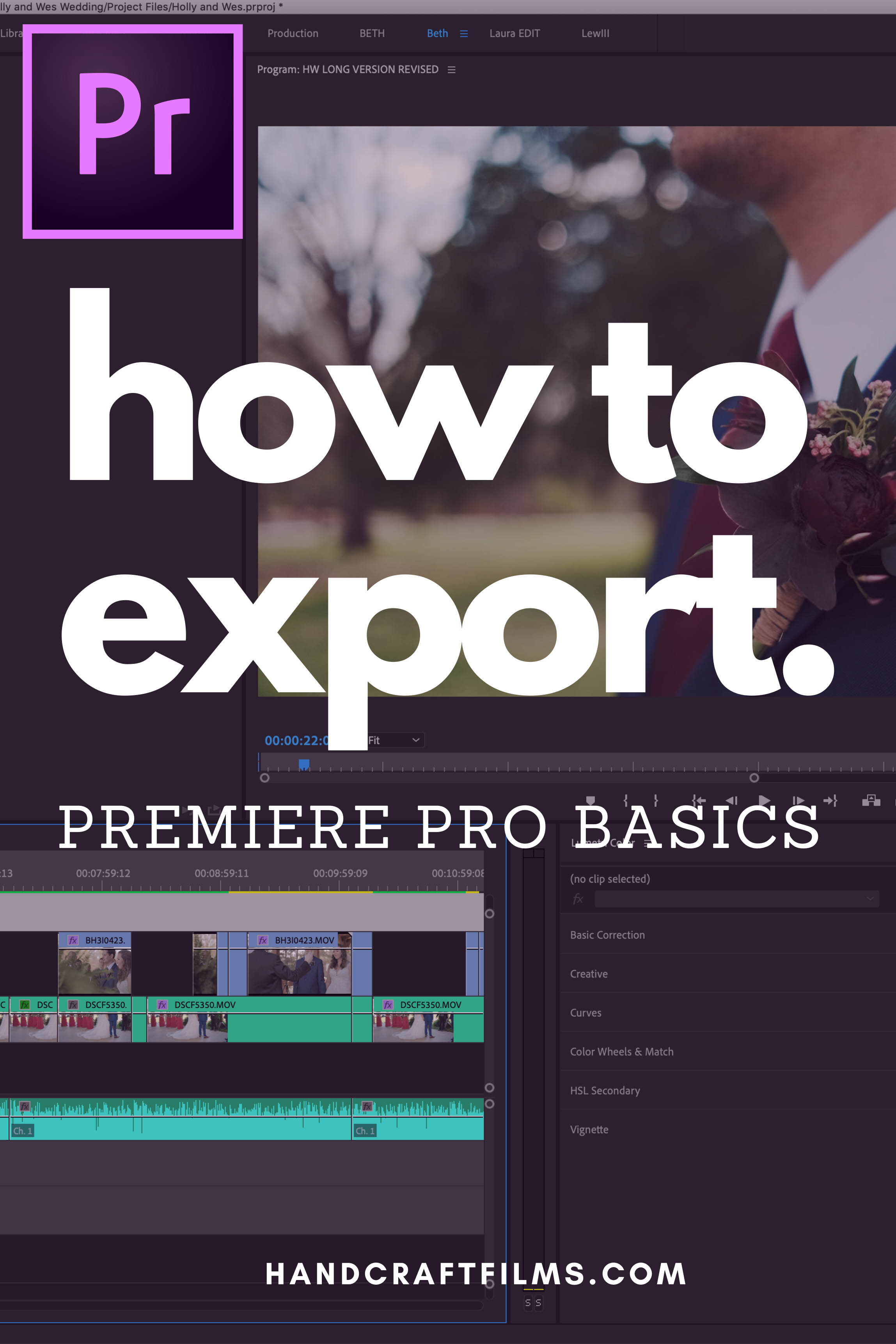 how to export videos in premiere pro
