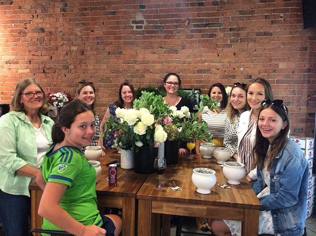 Having a blast at our Mother's Day flower workshop! Thanks for coming out, and thank you to @ps_floral_design_seattle for helping us create some beautiful arrangements! 💐 . . Did you come to today's workshop? Tag us in your pics! . . #floralworkshop #mothersday #eventoftheday #eotd #shopconeandsteiner #seattle #capitolhill #pioneersquare #downtown #shoplocal #shopsmall #localvore #goodneighborsgoodfood #productoftheday